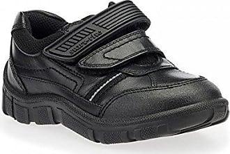 H9 Leather Riptape 5 Rite LukeBlack Boys Start School Shoes SMqVzpGU