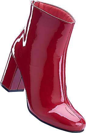 Bonprix Pour Bottines Bodyflirt Femme Rouge SxHztdp 593caa22e354