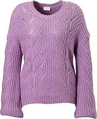 Paars Met Vila Opendetails Sweater Gebreide qRRfz