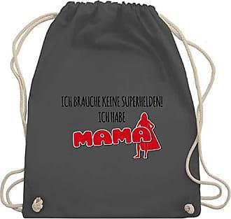 Ich Habe Sprüche Turnbeutel Kind Shirtracer Keine Gym Bag Mama Superhelden amp; Wm110 Brauche Unisize Dunkelgrau xSEYxqZw