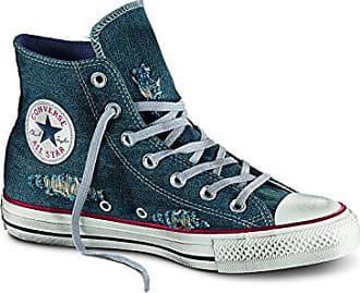 Ein Converse Taylor Star GummieinsatzUsed 31 All Aus DenimVorne Sneaker Schnürsenkeln effektJungen Blauer Chuck Mit v8wy0OmNn