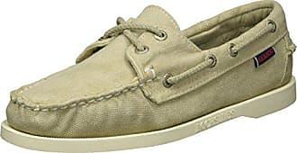 Sebago Canvas Chaussures Eu 40 Bateau Femme Docksides beige rw1xOqFrU