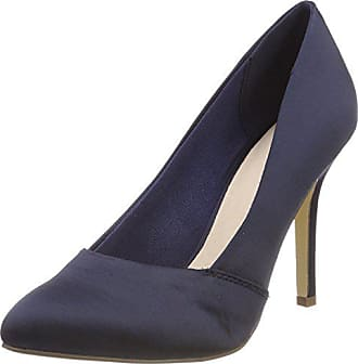 Pump 31 Eu navy Blue Loafer Bianco Femme Escarpins Bout Fermé 38 Bleu 100 2 U1w5PxnwqO