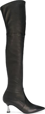 Heeled Over Casadei Boots The Knee Noir d4fZfq5U