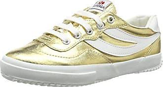 Uk gold Eu Mujer 174 6 2832 Superga Zapatillas Dorado Cotmetw 40 5 wTURxPOq