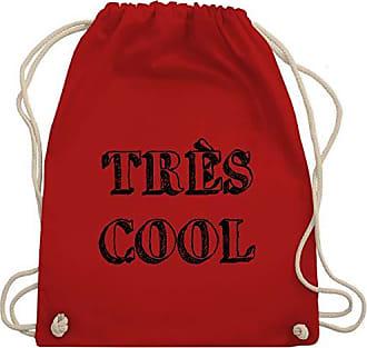 amp; Shirts Bag Cool Rot Unisize Très Gym Shirtracer Turnbeutel Statement Wm110 BnqxvC8wg