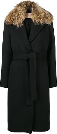 Twin Manteau À Set Taille Noir Ceinturée TcwrT0g1q