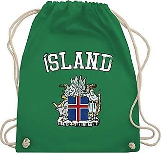 amp; Wappen Unisize Bag 2020 Shirtracer Gym Wm110 Grün Fußball Wm europameisterschaft Island Turnbeutel qngCIxCvw