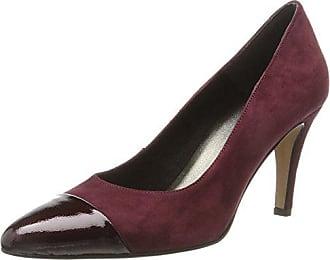 Para 22442 Tacón Eu De Rojo vino Zapatos patent 37 Mujer Tamaris wPIqtHqd