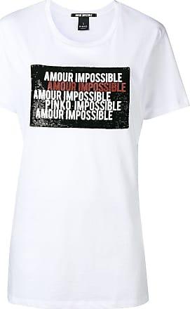T Logo Blanc shirt Pinko Print azgP4U