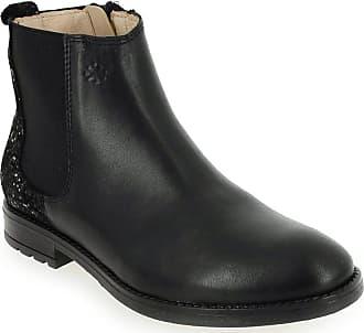 Boots Or 9355 Pour Promo Fille Acebos Enfant Noir Owx8a8