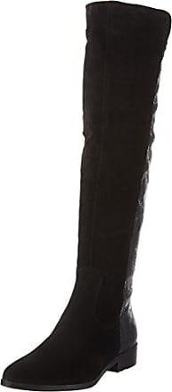 25541 Negro Altas Botas 001 black 35 Eu Mujer Tamaris fwqpzq