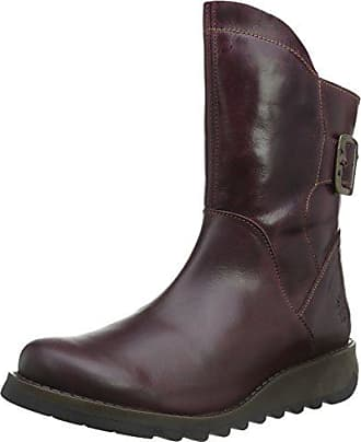 Violet 37 London Femme Bottes 006 Eu purple Courtes Fly Sien H64xqwp4a