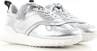 Leather Tod's Silver 5 39 37 38 Women Sneakers For 38 On Sale 2017 qwqYOTa