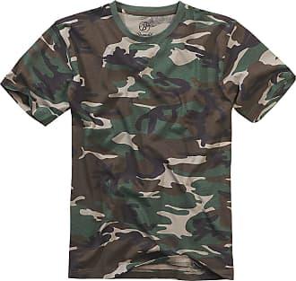 Manches T Forêt Messieurs Courtes Pour Premium Brandit shirt Camouflage q4nActzA
