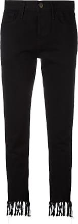 Pijpen Cropped Rechte 3x1 Zwart Jeans Met qIwzU