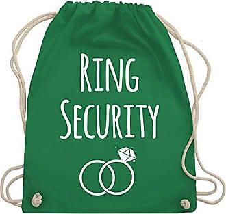 Shirtracer Gym Wm110 Bag HochzeitRing Turnbeutelamp; Security Grün Unisize mw8Nvn0