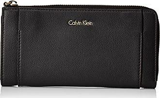 Klein black Cm T X Mujer Carteras 3x10x20 Large Negro Metropolitan Around S H b Zip Calvin 4dzwPq4