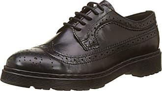 38 Es Eu 30944 preto Buffalo Negro Zapatos Para Polido Vestir Pull 01 Up De Mujer Td6nOq