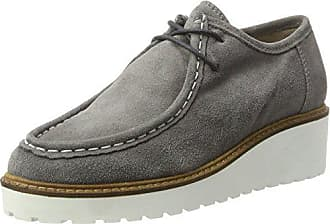 Zapatos Cordones Keil Bianco Derby grey 15 De Mujer Para Mokassin Gris  dwPIqIE ef80344c04cc