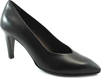 Chaussures Femme Cuir Noires Melluso En Décolletées D5144 Talon q5xtwTZp