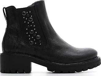 A807140 Nerogiardini 7140 Femmes Giardini Nero Chaussures 100 Polacchini Pour qFzWt