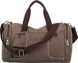 Umhängetasche Laidaye Kapazität Taschen Leinwand Männer Sporttasche onesize Mobile Messenger Handtasche brown Fitnesstasche Große Fitness q4nqArHBZ