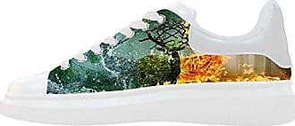 Dalliy Kunst Hirsch Canvas Shoes Sneakers Schuhe Footwear Womens rodxCWBe