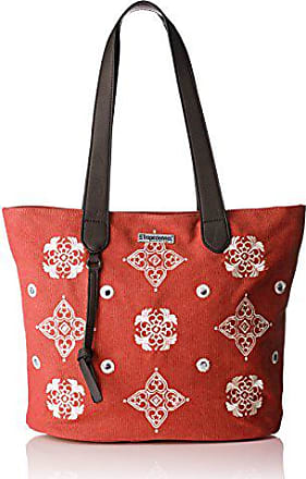 in rosso per Red Borsa w donna a Dou01 Rouge red Les tela tz Tropeziennes xaqYUU