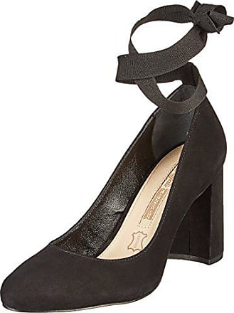 Zs 01 Eu Buffalo Tacón 7166 16 Nobuck Negro 38 Mujer black De Para Zapatos dqOqwCP