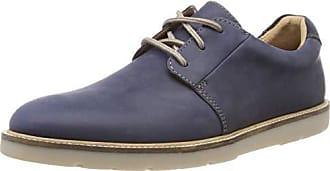 Eu navy Clarks Derbys 44 Bleu Plain Grandin Homme Leather HTxf8H