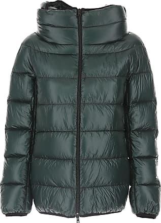 Botella Mujer Oscuro Plumas M Poliamida Verde Esquí 44 Abrigo De 2017 Herno Para xqw80RnA