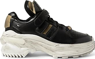 SneakersBlack Distressed Maison Margiela Leather Maison OPXN0wZk8n