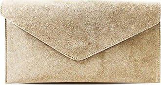 beige Italian Genuine Hochzeit Leahward Handtaschen Party Handtasche Envelope Leder Cw01 Geldbörse Suede Umhängetasche p74qwR