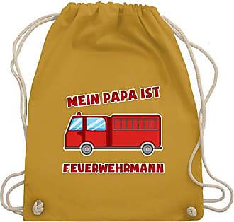 Papa Ist KindMein Wm110 Gym Shirtracer Feuerwehr Unisize Turnbeutelamp; Senfgelb Bag Feuerwehrmann iOuPkXZ