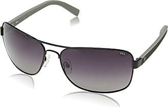 Fila shiny Black Grau Sf9708 Sonnenbrille Einheitsgröße Herren rXFUIr
