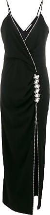 Alessandra neck Rich Noir V Dress Embellished vqU4Hv