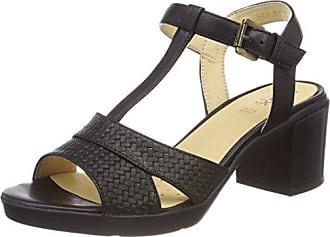 Sandal Mid Femme D black Annya Salomés 40 Eu B Geox Noir qFnawtRU