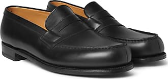 mWeston 180 J Leather Penny The LoafersBlack Moccasin UpVzMS