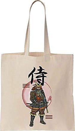 Painting Cotton Canvas Samurai Prints Ancient Bag Cool Of Tote Finest 2WDHI9E