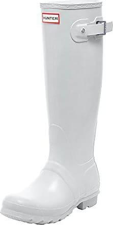 38 Hunter Wht Eu Blanc Bottines Femme Bottes amp; De Wellington Boots Pluie white aqaZwxTg