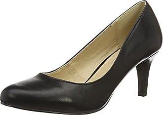 Eu Femme Bitton 1 01 P1735a Shoes Buffalo 39 Escarpins Noir black C404a Pu David qH8OpwA