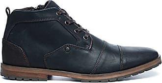 Schuhe Herren Sacha Leder Boots Farbe Schwarz v0Bd0xwq1