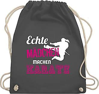 Machen KampfsportEchte Dunkelgrau Gym Unisize Wm110 Turnbeutelamp; Mädchen Bag Karate Shirtracer VpjzMGqLSU