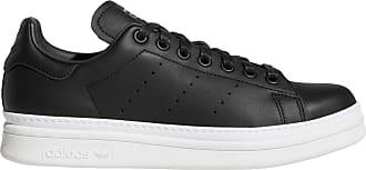 Baskets Originals Basses Stan Smith Cuir Adidas Noir En pfvqv