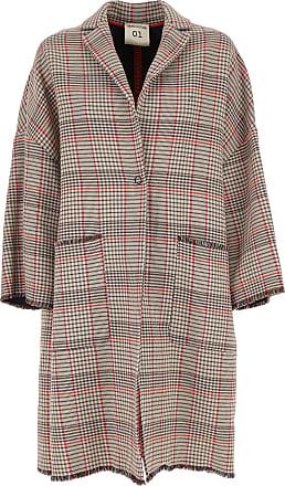 Womens Semicouture Red Cotton 2017 M Coat rrqdvU