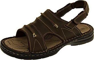Sandalen 44 Klettbänder Herren Territory Braun Leder Wandern Echtes Footwear Eu Northwest Studio Savanna lKJ3F1Tc