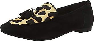 Suede Office Para Con Punta 40 03532 Eu Cerrada leopard Multicolour Bailarinas black Farley Mujer pRqzp6