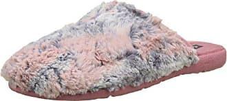 Victoria Pelo Femme 37 Eu Rose Chinela rosa Bicolor Mules Chaussons XrXUq