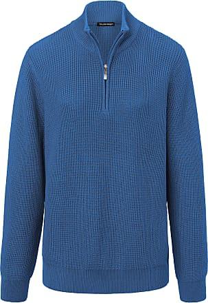 Sayn Blau kragen Stehbund Louis Pullover xeCdBor
